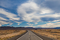 RUTA 40 ENTRE EL CHALTEN Y EL CALAFATE, PROVINCIA DE SANTA CRUZ, PATAGONIA, ARGENTINA (PHOTO BY © MARCO GUOLI - ALL RIGHTS RESERVED. CONTACT THE AUTHOR FOR ANY KIND OF IMAGE REPRODUCTION)