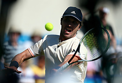 Germany's Mischa Zverev during day five of the Nature Valley International at Devonshire Park, Eastbourne.