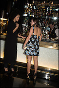 NATHALIE EMMANUEL;  GEMMA COLEMAN, Party to celebrate Vanity Fair's very British Hollywood issue. Hosted by Vanity Fair and Working Title. Beaufort Bar, Savoy Hotel. London. 6 Feb 2015
