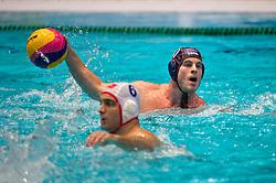 21-01-2012 WATERPOLO: EC NETHERLANDS - TURKEY: EINDHOVEN<br /> European Championships Netherlands - Turkey / Roeland Spijker<br /> (c)2012-FotoHoogendoorn.nl / Peter Schalk