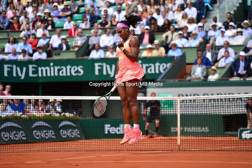 Serena WILLIAMS - 03.06.2015 - Jour 11 - Roland Garros 2015 <br />Photo : Dave Winter / Icon Sport