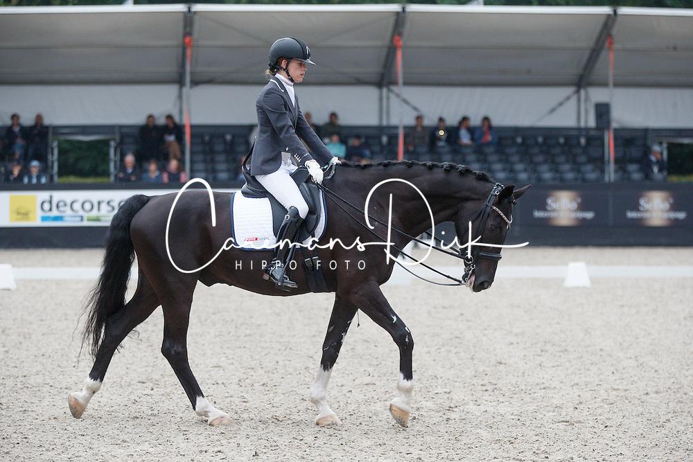 Van Der Horst Rixt, (NED), Uniek NOP<br /> Para Dressuur Finale<br /> Dutch Championship Dressage - Ermelo 2015<br /> © Hippo Foto - Dirk Caremans<br /> 19/07/15
