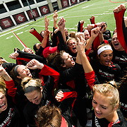 05 March 2017: The San Diego State Aztec's women's lacrosse team hosted Boston University Sunday afternoon and won 14-8. <br /> www.sdsuaztecphotos.com