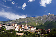 Gran Sasso National Park, Abruzzo, Italy, June 2008. The village of Assergi. Photo by Frits Meyst/Adventure4ever.com