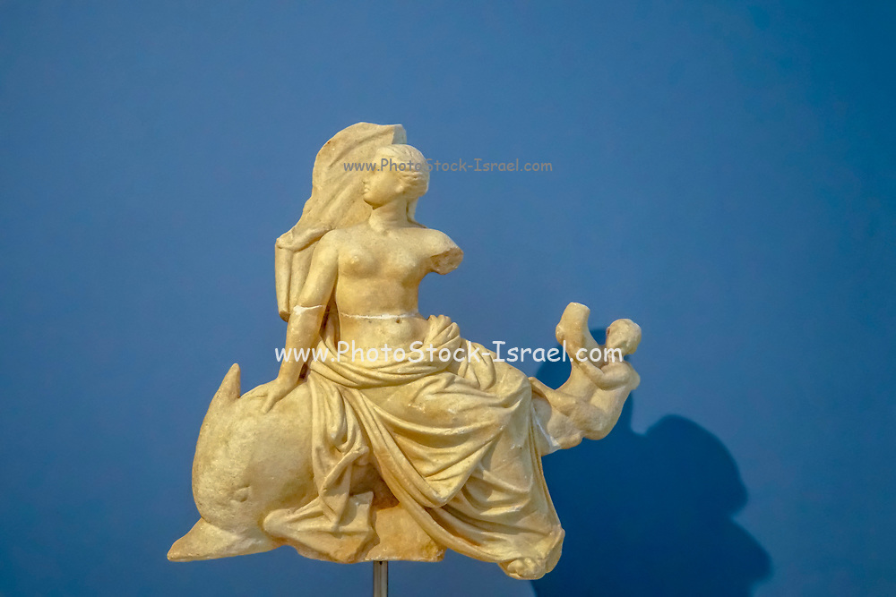 Statuette of Aphrodite riding a dolphin Archaeological Museum of Thasos is a museum located in Limenas on the island of Thasos, East Macedonia, Greece