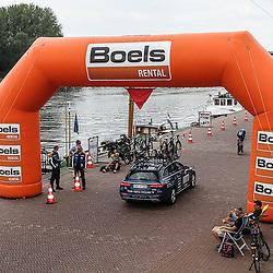 28-08-2018: Wielrennen: Ladies Tour: Arnhem<br />De proloog voerde de rensters langs de Rijn in Arnhem