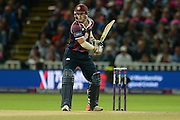 David Willey during the NatWest T20 Blast final match between Northants Steelbacks and Lancashire Lightning at Edgbaston, Birmingham, United Kingdom on 29 August 2015. Photo by David Vokes.