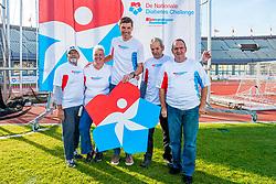 29-09-2018 NED: Finale Nationale Diabetes Challenge, Amsterdam<br /> Diverse gezondheidscentra, huisartsenpraktijken en fysiotherapie praktijken zijn met ondersteuning van de BvdGF gestart met een lokale wandel challenge. De grote finale vondt plaats in het Olympisch Stadion Amsterdam
