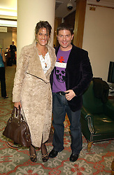 KENNY GOSS and artist TRACEY EMIN at the Lighthouse Gala Auction in aid of the Terrence Higgins Trust held at Christie's, St.James's, London on 15th March 2006.<br /><br />NON EXCLUSIVE - WORLD RIGHTS