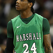 Marshall guard DeAndre Kane (24) during a Conference USA NCAA basketball game between the Marshall Thundering Herd and the Central Florida Knights at the UCF Arena on January 5, 2011 in Orlando, Florida. Central Florida won the game 65-58 and extended their record to 14-0.  (AP Photo/Alex Menendez)
