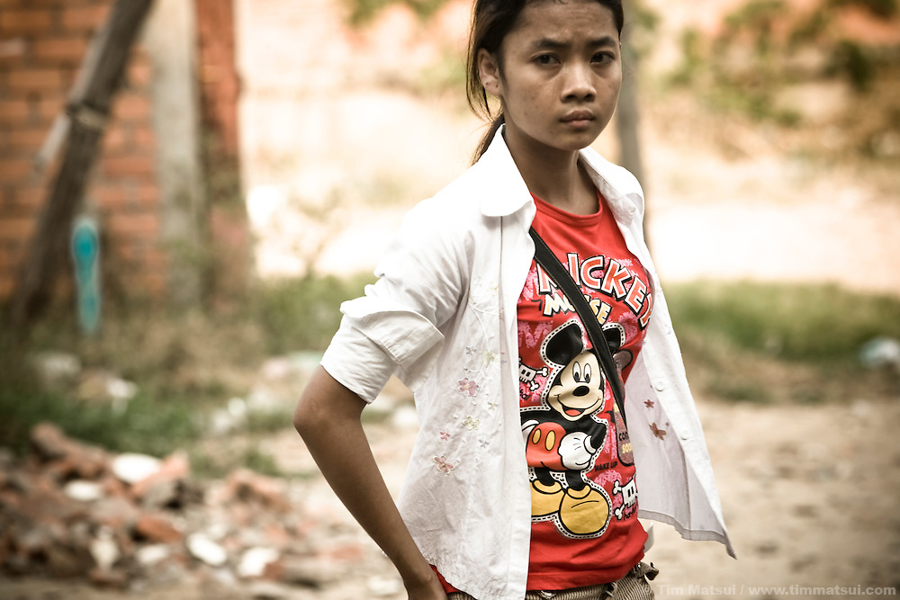 Human trafficking survivor Srey Neth revisits where her mother sold her, at age 14, to a neighborhood pimp in a slum in downtown Phnom Penh. A week later, the pimp sold her virginity of $300. <br /> <br /> Later diagnosed with HIV, Neth suffered beatings, electrocution, and upwards of 20 customers per night until the police and a non-governmental organization (NGO) freed her. Five years later, she has moved into subsidized secondary transitional housing with the NGO Transitions Global. She is continuing with her computer and English education while teaching at Transitions, conducting outreach in impoverished communities, and works for a yoga studio catering to westerners. Neth is a victim-turned-survivor.