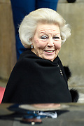 Prinses Beatrix geeft in het Koninklijk Paleis in Amsterdam een verjaardagsontvangst voor familie, vrienden en bekenden. Prinses Beatrix werd afgelopen woensdag tachtig jaar en vierde haar verjaardag in besloten kring.<br /> <br /> Princess Beatrix gives a birthday reception for family, friends and acquaintances at the Royal Palace in Amsterdam. Princess Beatrix was eighty years old last Wednesday and fourth birthday in private.<br /> <br /> Op de foto / On the photo:  Prinses Beatrix / Princess Beatrix