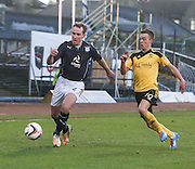 Gary Irvine and Stefan Scougall - Dundee v Livingston,  SPFL Championship at Dens Park<br /> <br />  - &copy; David Young - www.davidyoungphoto.co.uk - email: davidyoungphoto@gmail.com
