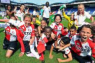 30-08-2008 VOETBAL:AUDAX JEUGDTOERNOOI 2008:TILBURG<br /> De D-pupillen van Feyenoord gaan helemaal los als ze het Audax toernooi winnen met 3-0 tegen Schalke 04<br /> Foto: Geert van Erven