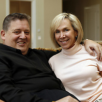 Former Notre Dame head football coach Charlie and Maura Weis, Granger, IN.<br />