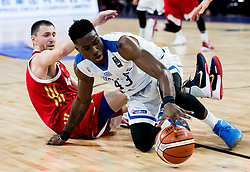 Vitaly Fridzon of Russia vs Thanasis Antetokounmpo of Greece during basketball match between National Teams of Greece and Russia at Day 14 in Round of 16 of the FIBA EuroBasket 2017 at Sinan Erdem Dome in Istanbul, Turkey on September 13, 2017. Photo by Vid Ponikvar / Sportida