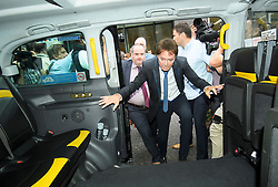 © Licensed to London News Pictures. 18/07/2018. London, UK. An emotional SIR CLIFF RICHARD gets in to a taxi as he leaves the Rolls Building of the High Court in London where judges ruled in favour of a claim by Sir Cliff Richard for damages against the BBC for loss of earnings. The 77-year-old singer sued the corporation after his home in Sunningdale, Berkshire was raided following allegations of sexual assault made to Metropolitan Police. Photo credit: Ben Cawthra/LNP
