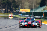 Lucas Di Grassi (BRA) / Loic Duval (FRA) / Oliver Jarvis (GBR) #8 Audi Sport Team Joest  Audi R18 e-tron quattro, Free Practice 1  as part of the WEC 6 Hours of Spa-Francorchamps 2016 at Spa-Francorchamps, Stavelot, , Belgium . May 05 2016. World Copyright Peter Taylor/PSP. Copy of publication required for printed pictures.  Every used picture is fee-liable. http://archive.petertaylor-photographic.co.uk