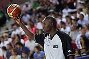 DESCRIZIONE : Ankara Turkey FIBA Olympic Qualifying Tournament for Women 2012 Puerto Rico Turkey Porto Rico Turchia<br /> GIOCATORE : <br /> SQUADRA : <br /> EVENTO :  FIBA Olympic Qualifying Tournament for Women 2012<br /> GARA : Puerto Rico Turkey Porto Rico Turchia<br /> DATA : 25/06/2012<br /> CATEGORIA : referee arbitro<br /> SPORT : Pallacanestro <br /> AUTORE : Agenzia Ciamillo-Castoria/ElioCastoria<br /> Galleria : FIBA Olympic Qualifying Tournament for Women 2012<br /> Fotonotizia : Ankara Turkey FIBA Olympic Qualifying Tournament for Women 2012 Puerto Rico Turkey Porto Rico Turchia<br /> Predefinita :