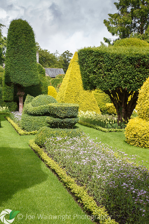 The grade 1 listed gardens at Levens Hall, Cumbria, were created at the end of the 17th century. They are famous for their ornate topiary.
