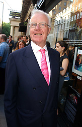 SIR JOCELYN STEVENS at an exhibition of photographs by David Montgomery entitled 'Shutterbug' held at Scream, 34 Bruton Street, London W1 on 13th July 2006.<br /><br />NON EXCLUSIVE - WORLD RIGHTS