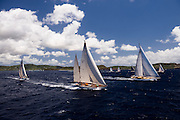 Sumurun, Carl Linne sailing in the Antigua Classic Yacht Regatta, Windward Race.