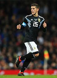 Fabricio Bustos of Argentina - Mandatory by-line: Matt McNulty/JMP - 23/03/2018 - FOOTBALL - Etihad Stadium - Manchester, England - Argentina v Italy - International Friendly