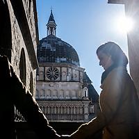 Bergamo, Italy - S.Maria Maggiore church in Upper Bergamo