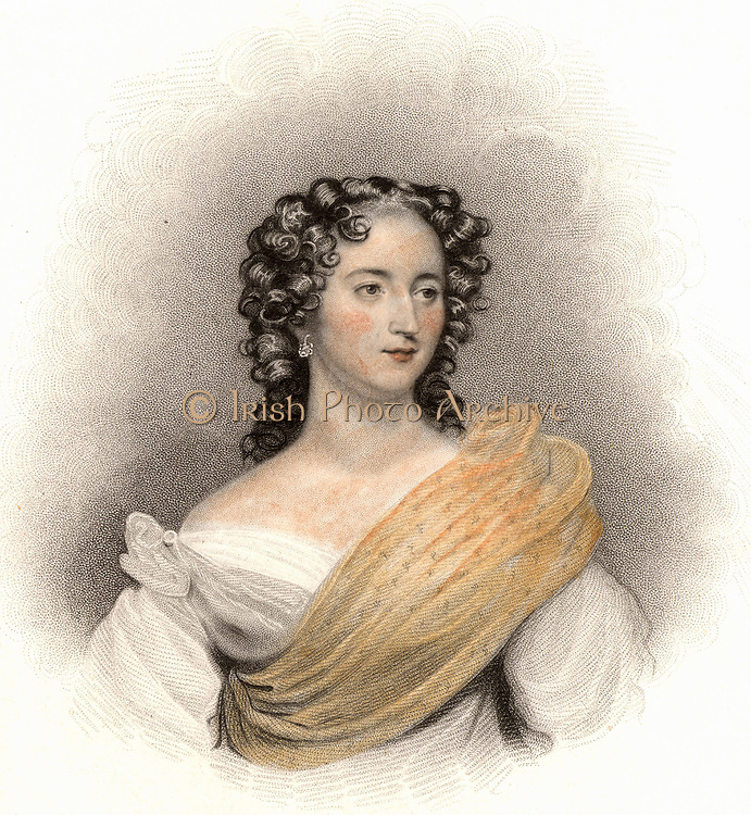Harriet Constance Smithson (1800-1854) Irish actress. In 1827 she appeared in Paris as Ophelia 'Hamlet' and Juliet in 'Romeo and Juliet' when the French composer Hector Berlioz became enamoured of her. They married in 1833 and separated in 1841. Engraving