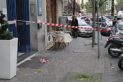 Italy, Naples -May 3, 2019.Camora mafia war. Three wounded in an ambush .A four-year-old girl hit along with her grandmother and a criminal in a shooting. She is is in serious condition in hospital. (Credit Image: © Napoli/Giacomino/Ropi via ZUMA Press)