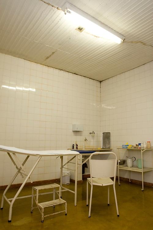 Jeceaba_MG, Brasil...Situacao real do hospital de Jeceaba...Real situation of the hospital Jeceaba...Foto: VICTOR SCHWANER /  NITRO
