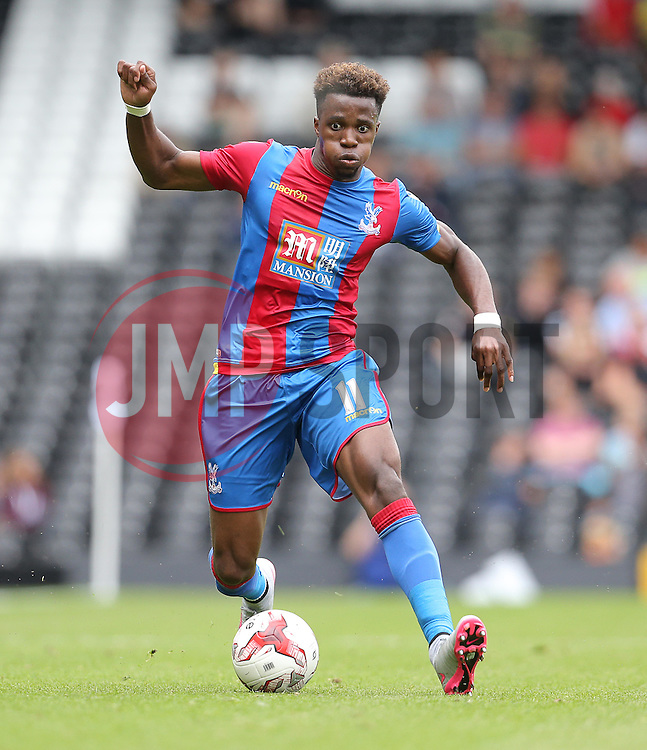 Wilfried Zaha of Crystal Palace - Mandatory by-line: Paul Terry/JMP - 07966386802 - 01/08/2015 - SPORT - FOOTBALL - Fulham,England - Craven Cottage - Fulham v Crystal Palace - Pre-Season Friendly