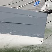 Première navigation du 6.50 DSS du chantier ISOTOP