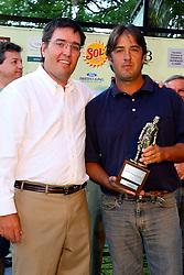 Premiação aos vencedores do XIII Aberto do Belém Novo Golf Club.  FOTO: Itamar Aguiar/Preview.com
