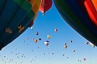 Hot air Balloon Fiesta, October, 2010. Albuquerque, New Mexico, USA.