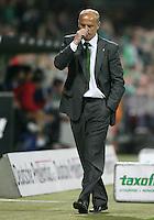 Fussball  UEFA Pokal  Halbfinale  Rueckspiel  Saison 2006/2007 Werder Bremen - Espanyol Barcelona              Trainer Thomas SCHAAF (Bremen) enttaeuscht