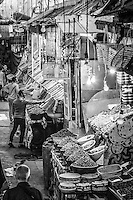 Aournd the markets of Meknes, Morocco