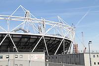 London 2012 Olympic Park Olympic Stadium, London, UK, 06 April 2011:  Contact: Rich@Piqtured.com +44(0)7941 079620