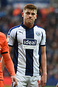 West Bromwich Albion midfielder Harvey Barnes (15), on loan from Leicester City during the EFL Sky Bet Championship match between West Bromwich Albion and Millwall at The Hawthorns, West Bromwich, England on 22 September 2018.