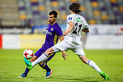 Damjan Bohar #39 of NK Maribor during 1st Leg football match between NK Maribor (SLO) and FH Hafnarfjordur (ISL) in Third qualifying round of UEFA Champions League 2017/18, July 26, 2017, in Stadium Ljudski vrt, Maribor, Slovenia. Photo by Grega Valancic / Sportida