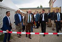 DEU, Deutschland, Germany, Werder, 30.08.2019: AfD-Fraktionschef Alexander Gauland bei der Wahlparty der Partei Alternative für Deutschland (AfD) auf der Bismarckhöhe in Werder/Havel.