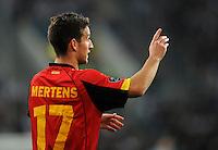 FUSSBALL  INTERNATIONAL  EM 2012  QUALIFIKATION  Deutschland - Belgien                              11.10.2011 Dries MERTENS (Belgien)