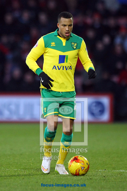 Martin Olsson of Norwich in action during the match at the Goldsands Stadium, Bournemouth<br /> Picture by Paul Chesterton/Focus Images Ltd +44 7904 640267<br /> 10/01/2015