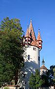 Diebsturm, Altstadt von Lindau, Bodensee, Bayern, Deutschland