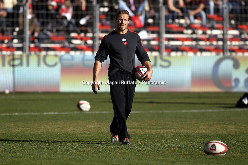 jonny wilkinson (rct). Top 14 Rugby, Toulon v Racing Metro, 10 January 2015.