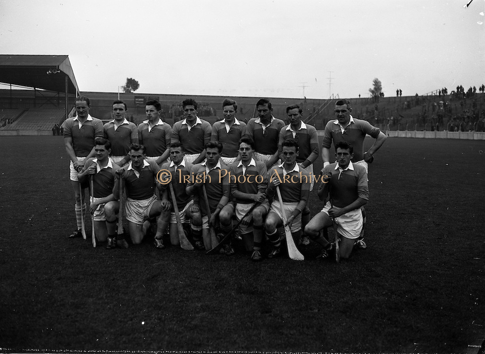22/10/1961<br /> 10/22/1961<br /> 22 October 1961<br /> Oireachtas Final: Tipperary v Wexford at Croke Park, Dublin.<br /> Wexford team.