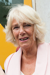 © Licensed to London News Pictures. 09/09/2015. London, UK. Camilla, Duchess of Cornwall leaving the ITV studios in London to celebrate the organisation's 60th anniversary. Photo credit : Vickie Flores/LNP