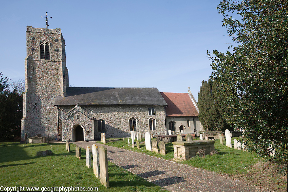 Parish church of Saint Peter, Wenhaston, Suffolk, England, UK