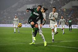 """Foto Filippo Rubin<br /> 10/02/2019 Reggio Emilia (Italia)<br /> Sport Calcio<br /> Sassuolo - Juventus - Campionato di calcio Serie A 2018/2019 - Stadio """"Mapei Stadium""""<br /> Nella foto: ALESSANDRO MATRI (SASSUOLO)'<br /> <br /> Photo Filippo Rubin<br /> February 10, 2019 Reggio Emilia (Italy)<br /> Sport Soccer<br /> Sassuolo vs Juventus - Italian Football Championship League A 2018/2019 - """"Mapei Stadium"""" Stadium <br /> In the pic: ALESSANDRO MATRI (SASSUOLO)"""
