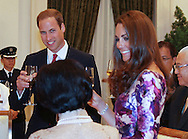 """""NO UK USE FOR 28 DAYS UNTIL 9TH OCTOBER 2012"".CATHERINE, DUCHESS OF CAMBRIDGE AND PRINCE WILLIAM.atend a State Recption and Dinner given by President Mr Tony Tan's and wife Mary Chee at Istana, Singapore._11/09/2012.Mandatory credit photo: ©Dias/DIASIMAGES..                **ALL FEES PAYABLE TO: ""NEWSPIX INTERNATIONAL""**..IMMEDIATE CONFIRMATION OF USAGE REQUIRED:.DiasImages, 31a Chinnery Hill, Bishop's Stortford, ENGLAND CM23 3PS.Tel:+441279 324672  ; Fax: +441279656877.Mobile:  07775681153.e-mail: info@newspixinternational.co.uk"